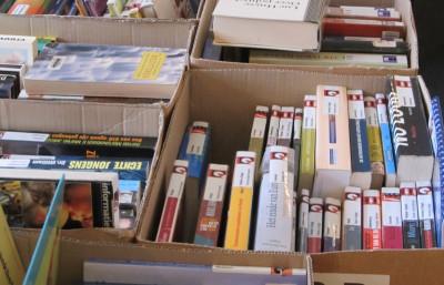 Boekenverkoop op 23-24/10 in Het Halfdiep