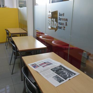 coronaveilige krantenhoek